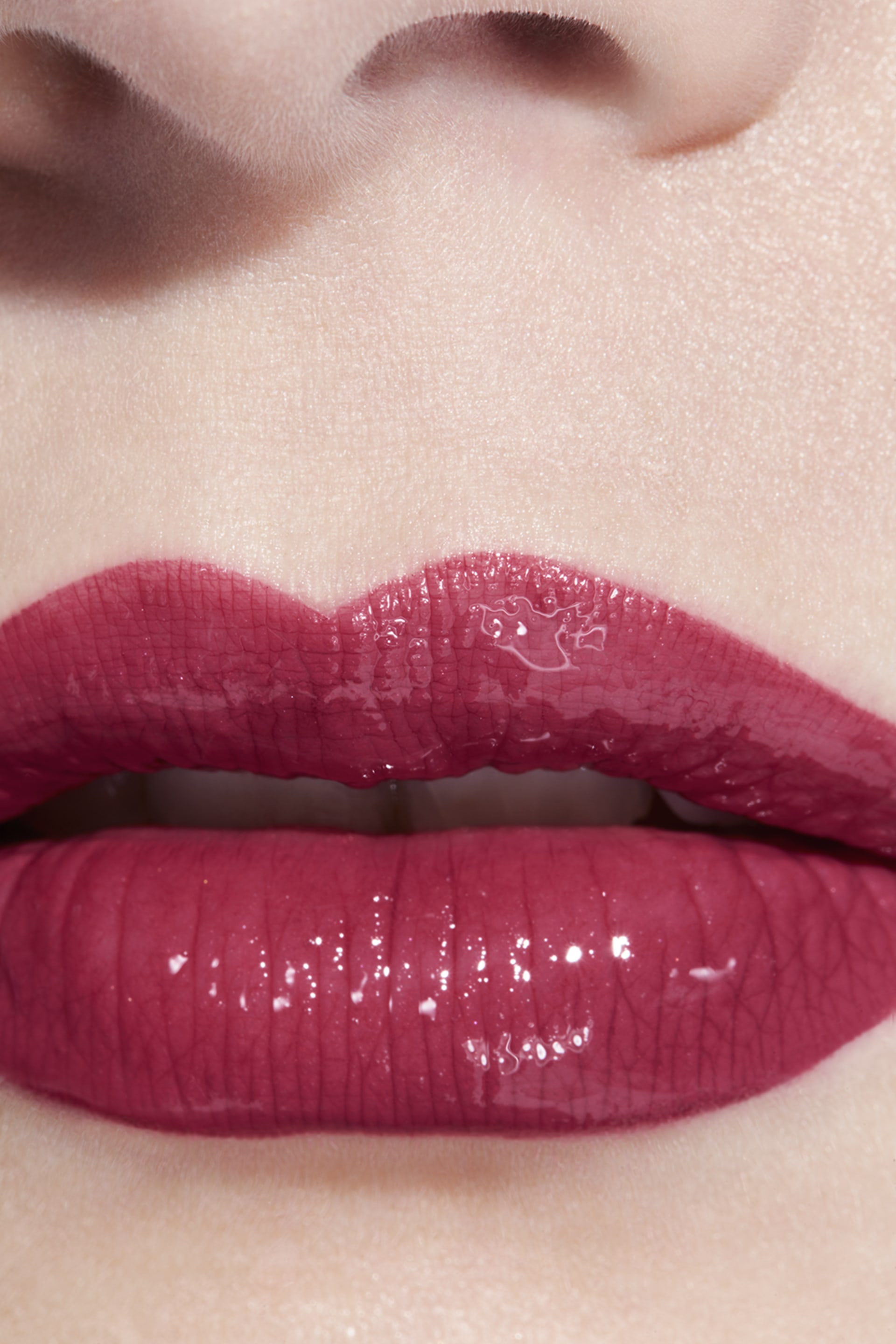 Application makeup visual 3 - LE ROUGE DUO ULTRA TENUE 43 - SENSUAL ROSE