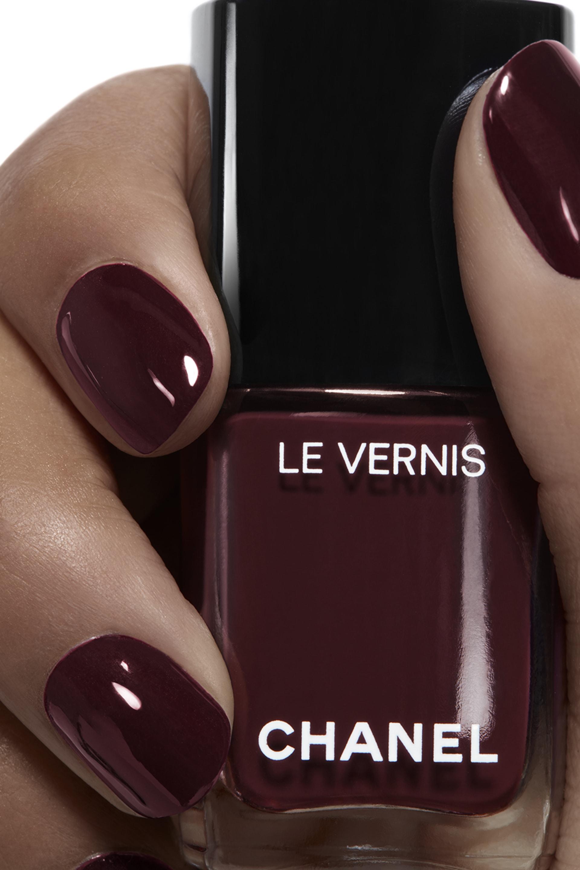 Application makeup visual 1 - LE VERNIS 18 - ROUGE NOIR