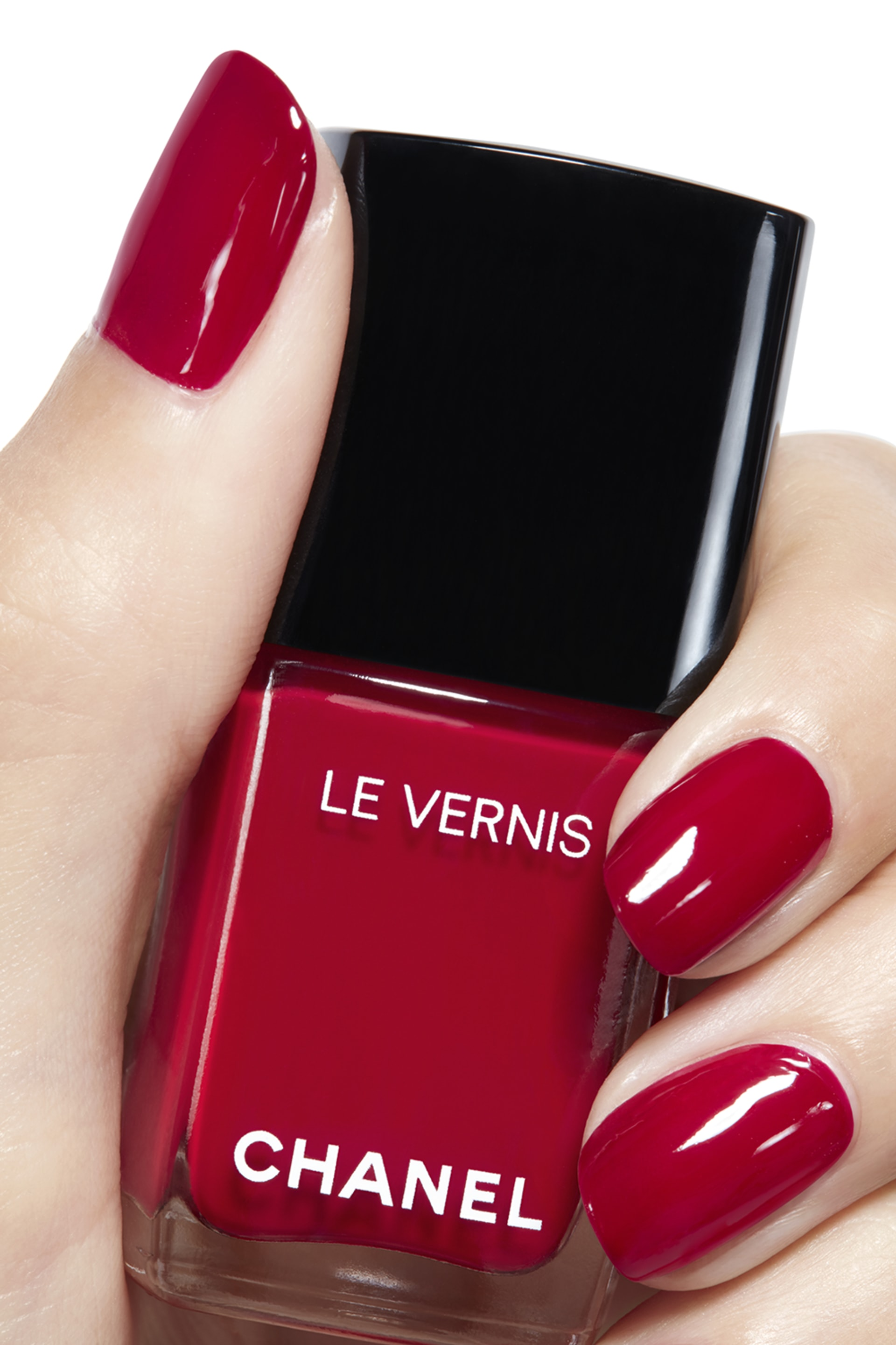 Visuel d'application maquillage 2 - LE VERNIS 528 - ROUGE PUISSANT