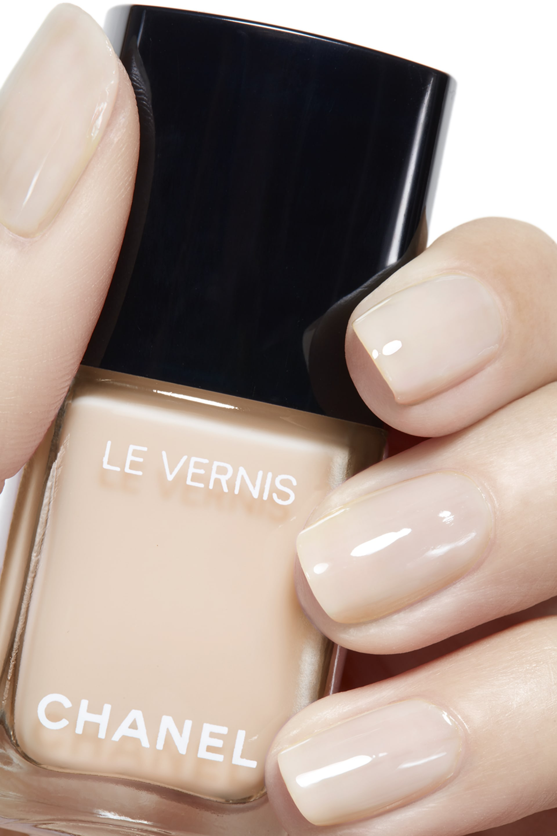 Visuel d'application maquillage 2 - LE VERNIS 548 - BLANC WHITE