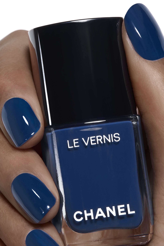 Application makeup visual 1 - LE VERNIS 624 - BLEU TROMPEUR