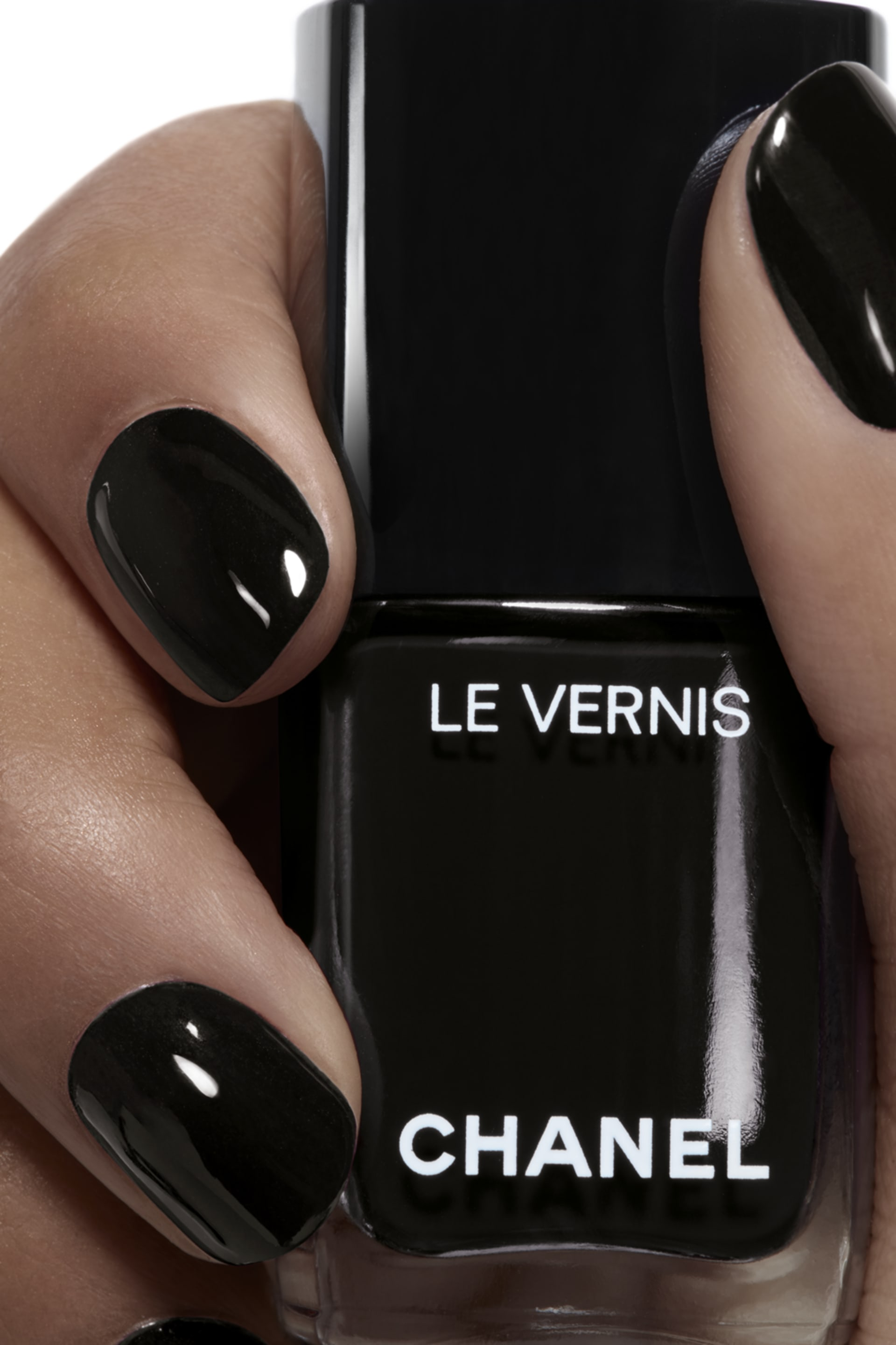 Application makeup visual 1 - LE VERNIS 713 - PURE BLACK
