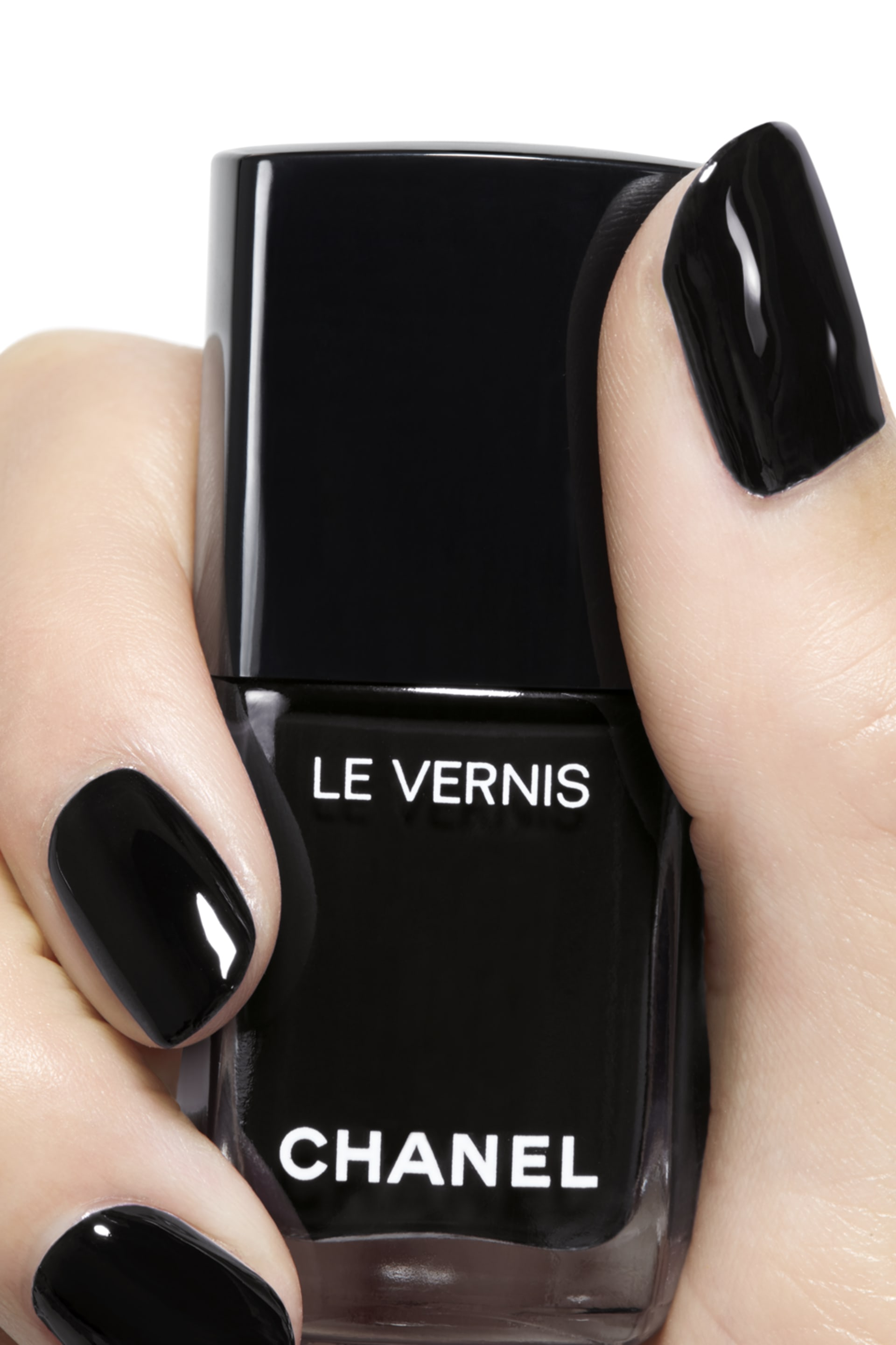 Application makeup visual 2 - LE VERNIS 713 - PURE BLACK