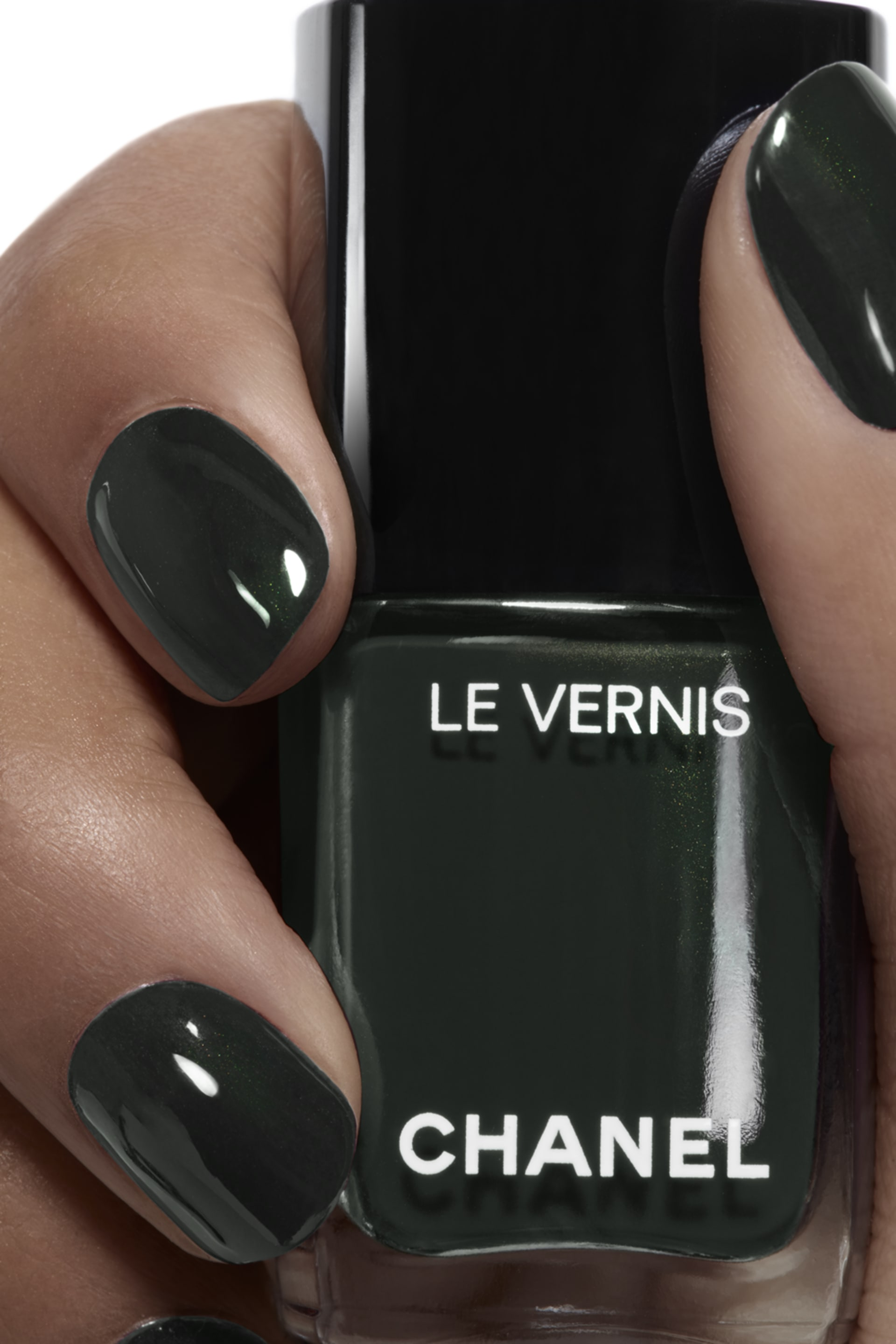 Application makeup visual 1 - LE VERNIS 715 - DEEPNESS