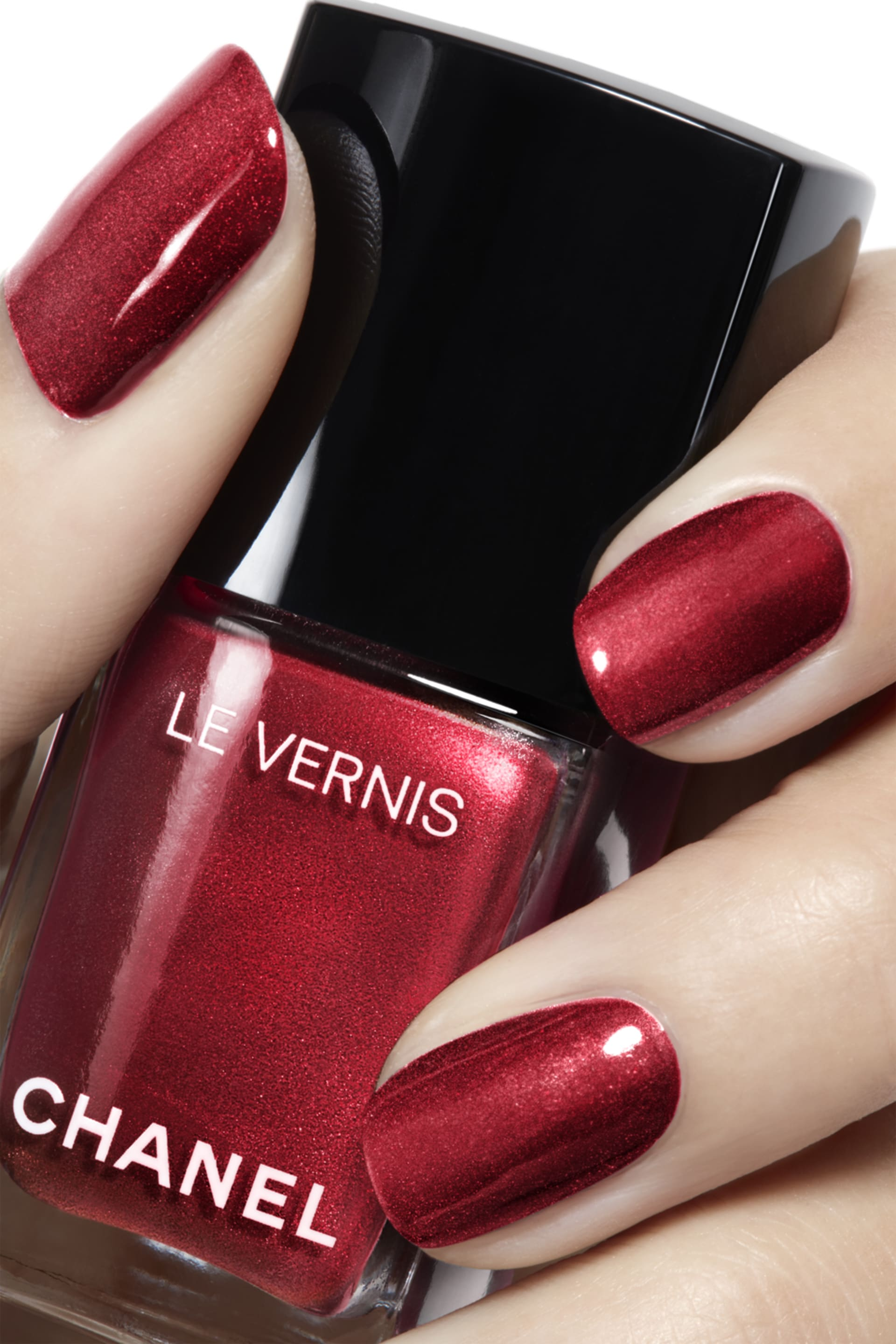 Application makeup visual 2 - LE VERNIS 731 - RADIANT RED