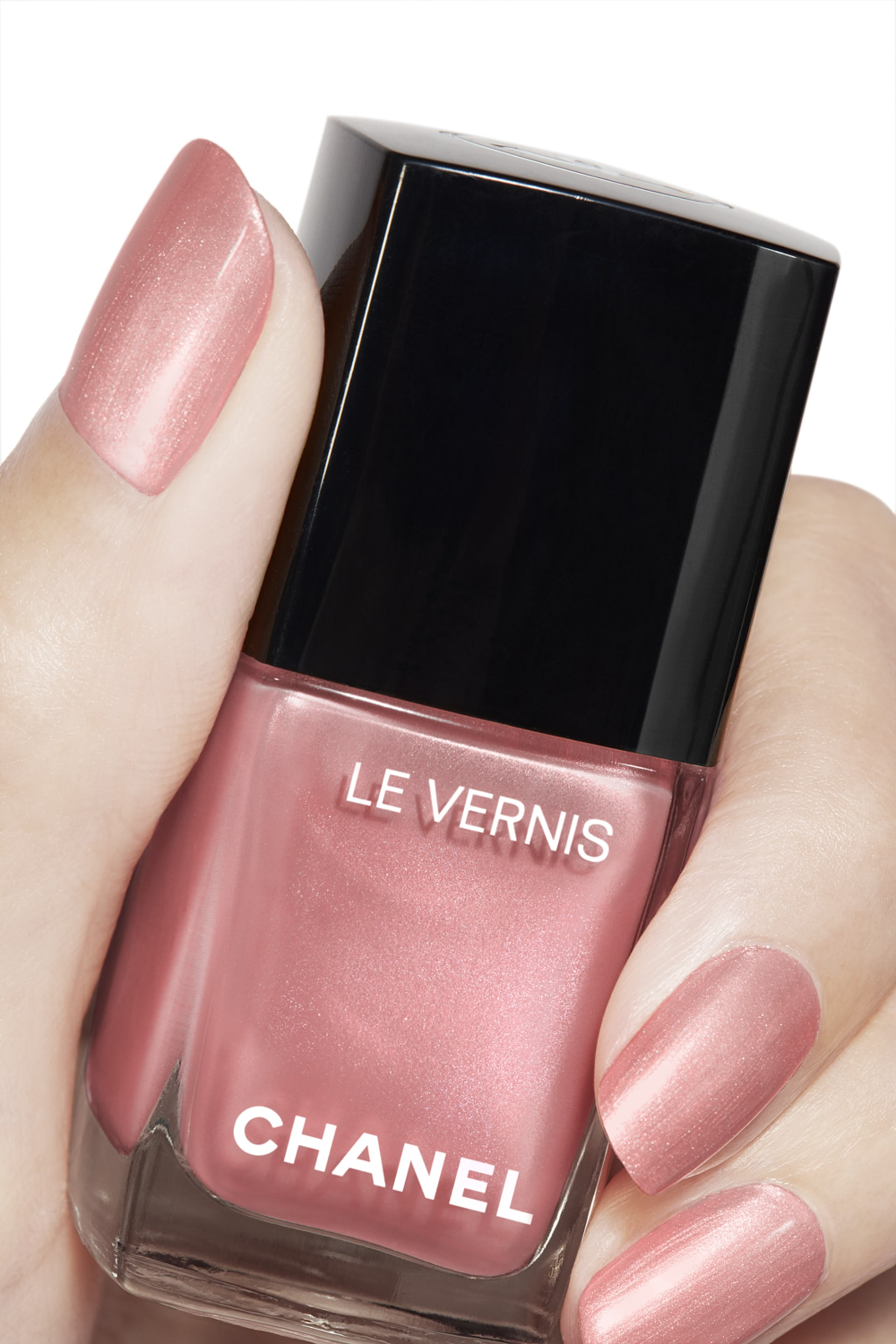 Application makeup visual 2 - LE VERNIS 741 - FLEUR DE PÊCHER