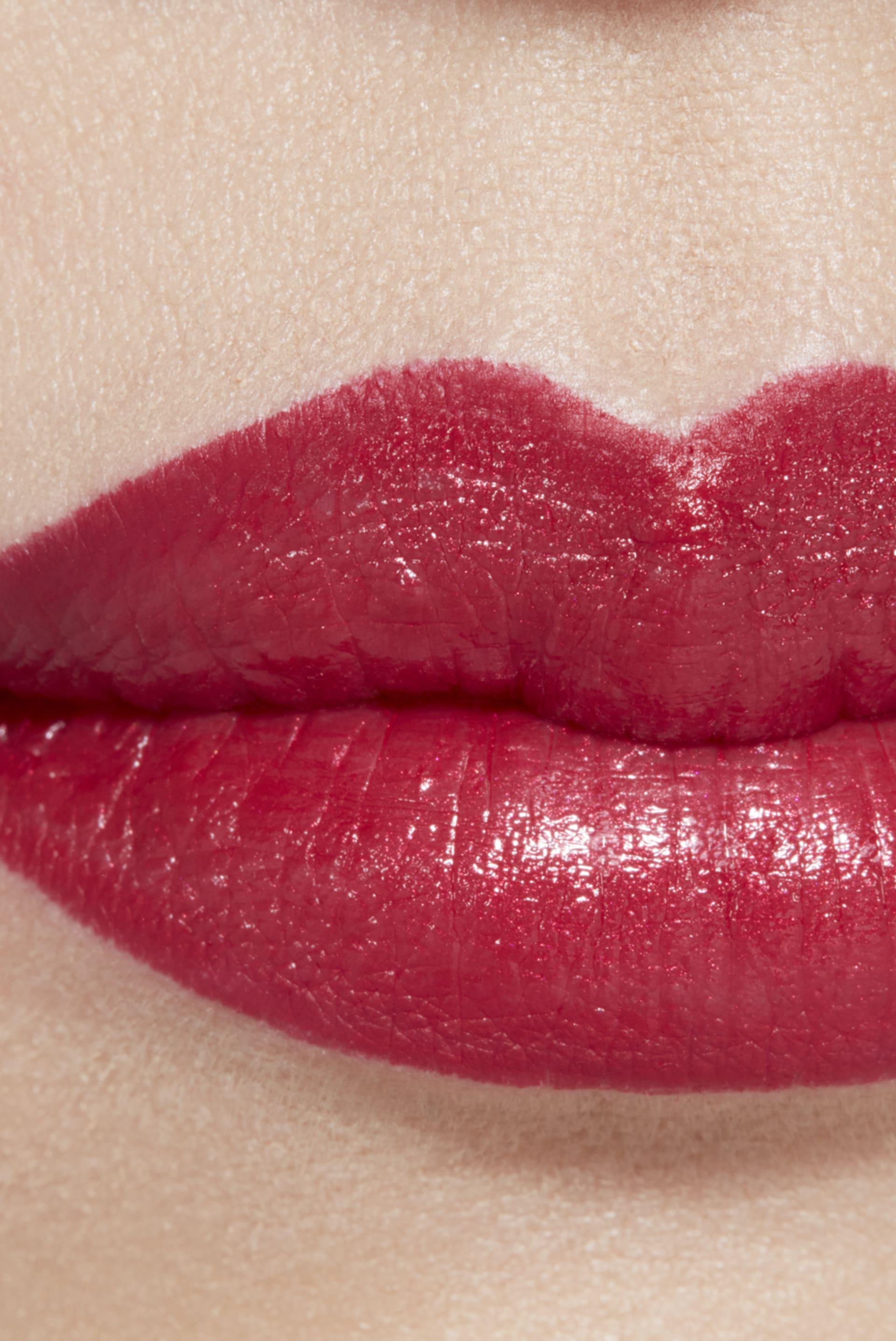 Пример нанесения макияжа 1 - ROUGE ALLURE CAMÉLIA 607 - ROUGE ALLURE CAMÉLIA ROUGE MÉTAL