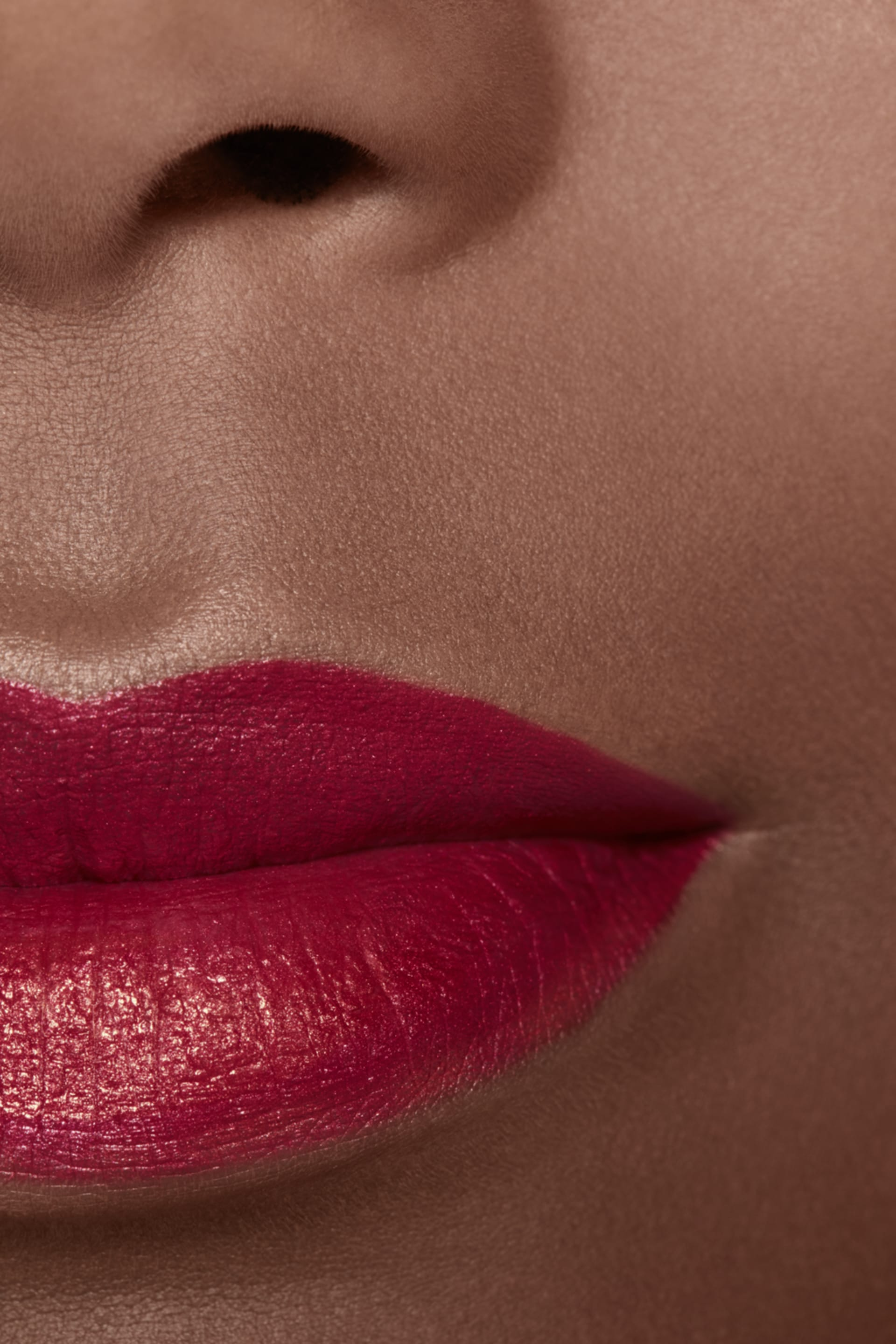 Application makeup visual 2 - ROUGE ALLURE INK 208 - METALLIC RED