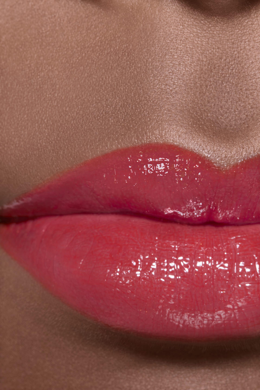 Application makeup visual 2 - ROUGE COCO FLASH 76 - ENTHUSIASM