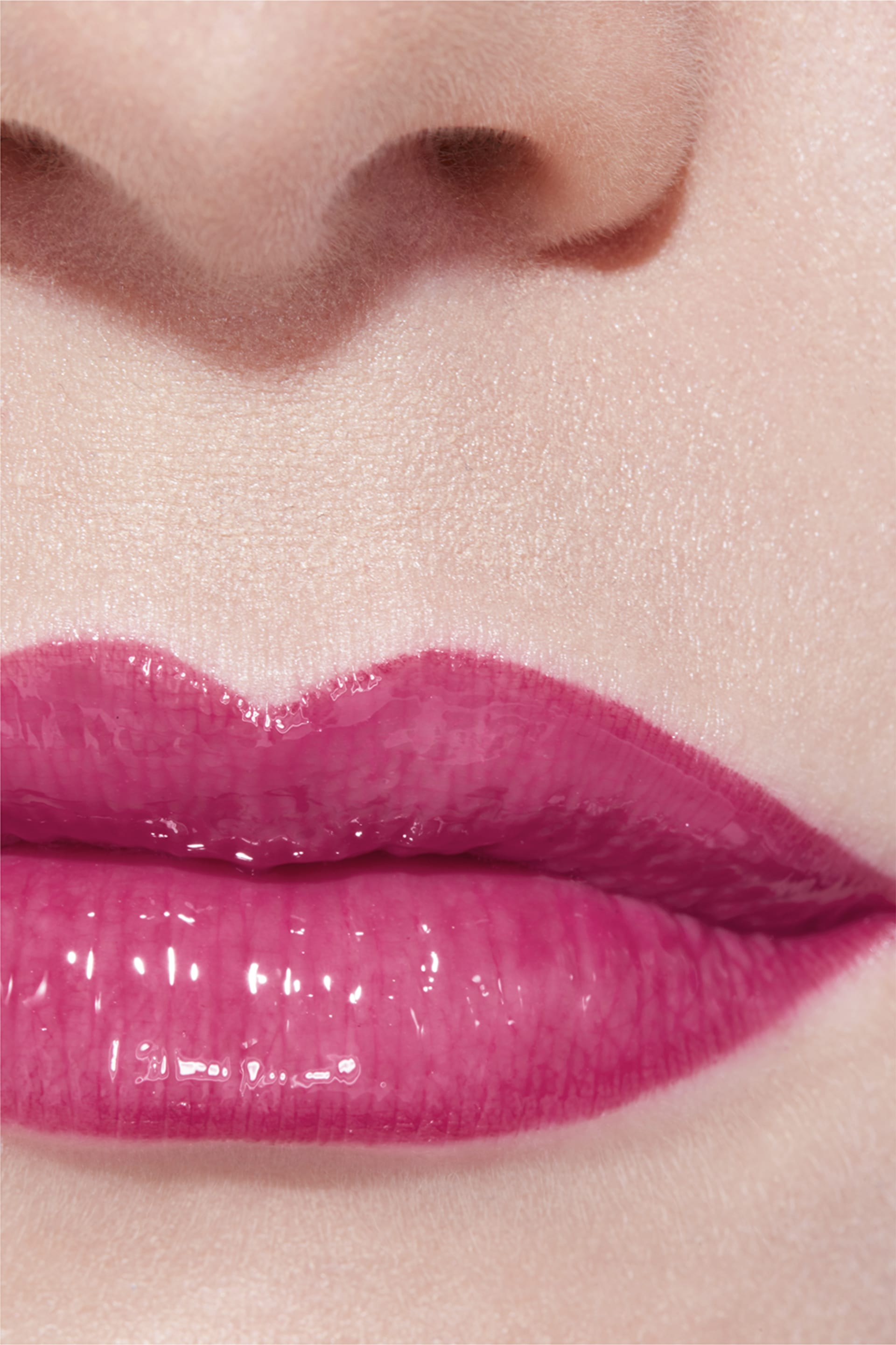 Application makeup visual 3 - ROUGE COCO GLOSS 806 - ROSE TENTATION