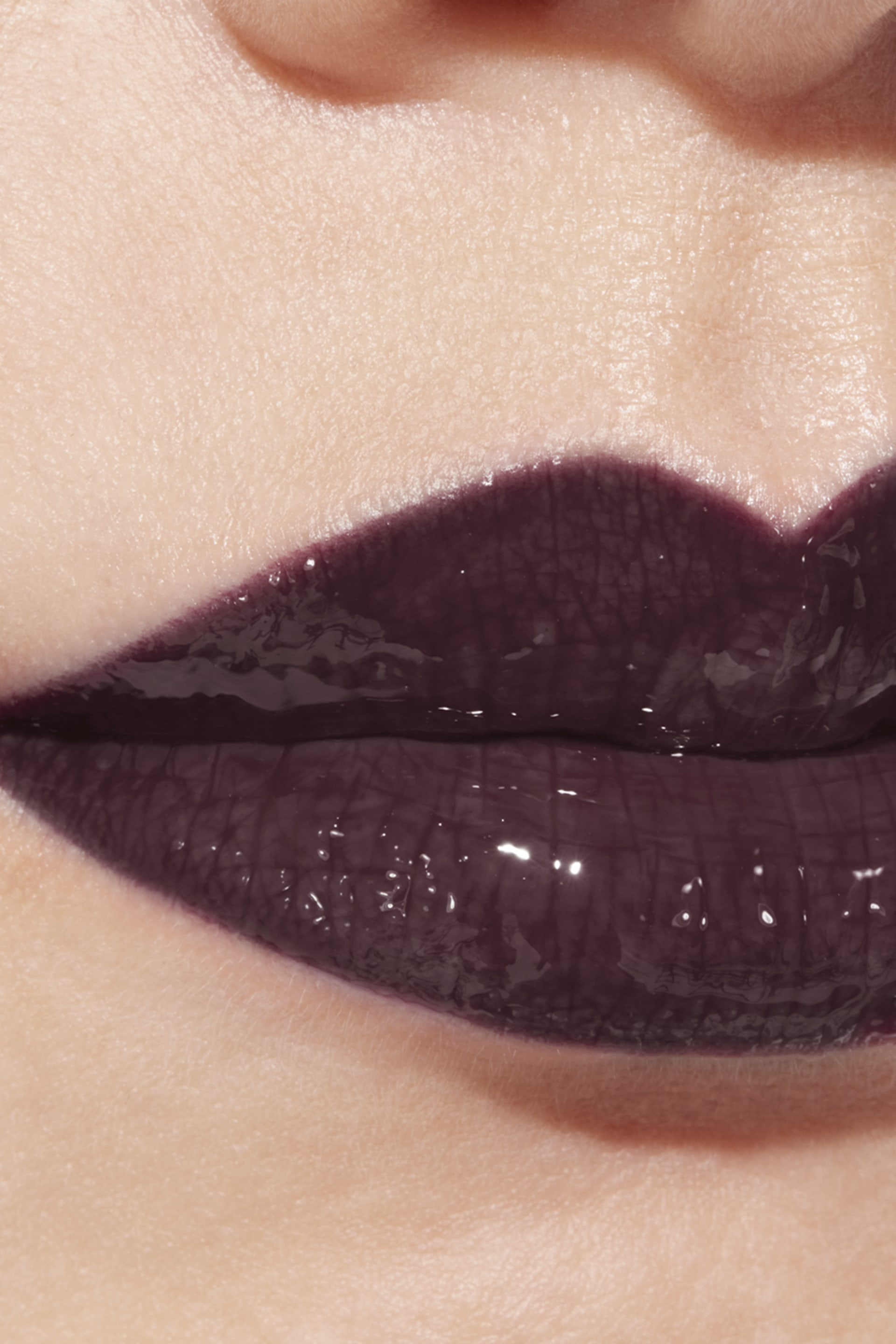 Application makeup visual 1 - ROUGE COCO GLOSS 816 - LAQUE NOIRE