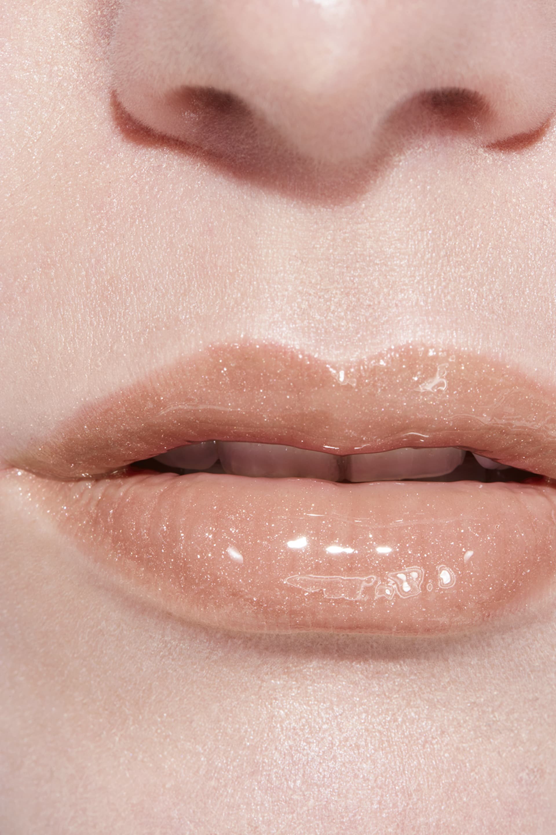 Application makeup visual 3 - ROUGE COCO GLOSS 712 - MELTED HONEY