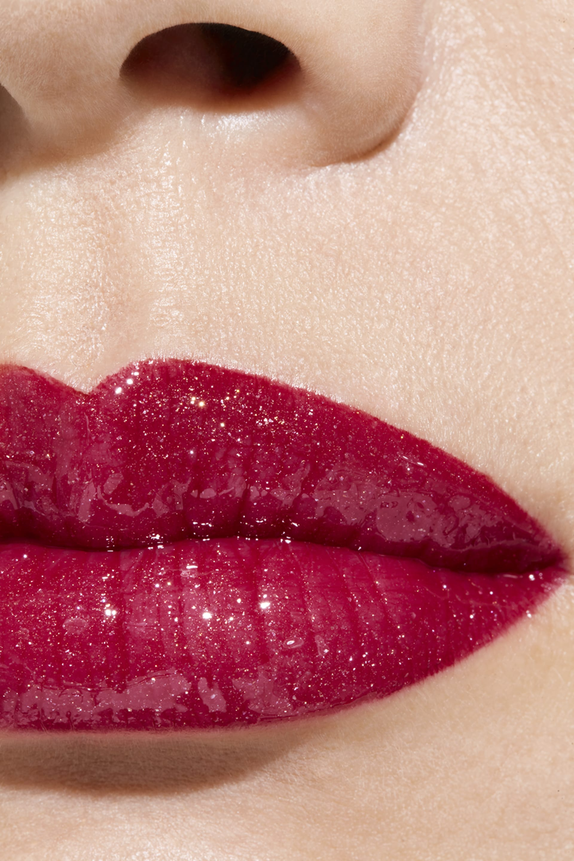 Application makeup visual 1 - ROUGE COCO GLOSS 774 - EXCITATION