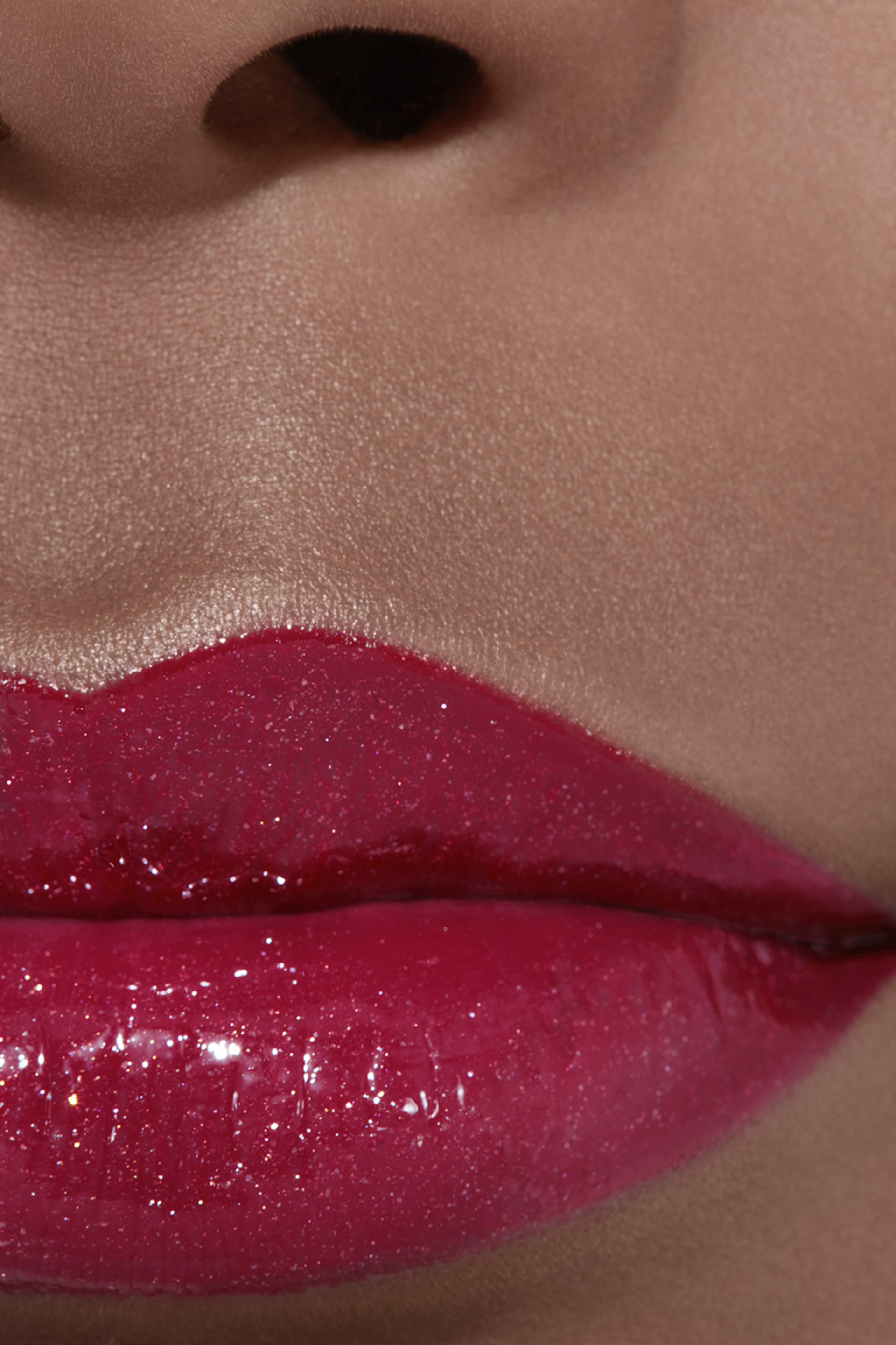Application makeup visual 2 - ROUGE COCO GLOSS 774 - EXCITATION