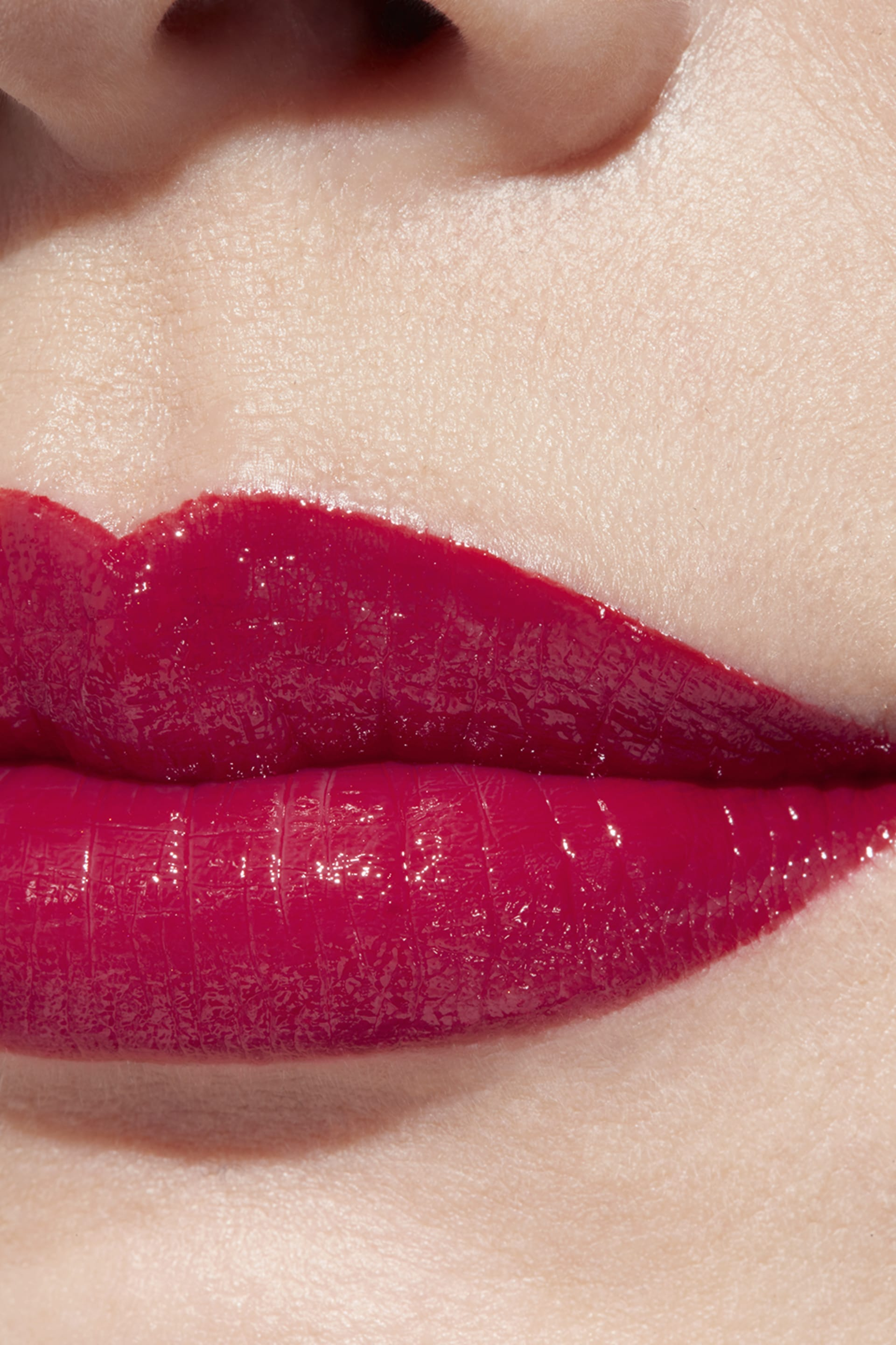 Application makeup visual 1 - ROUGE COCO 484 - ROUGE INTIMISTE