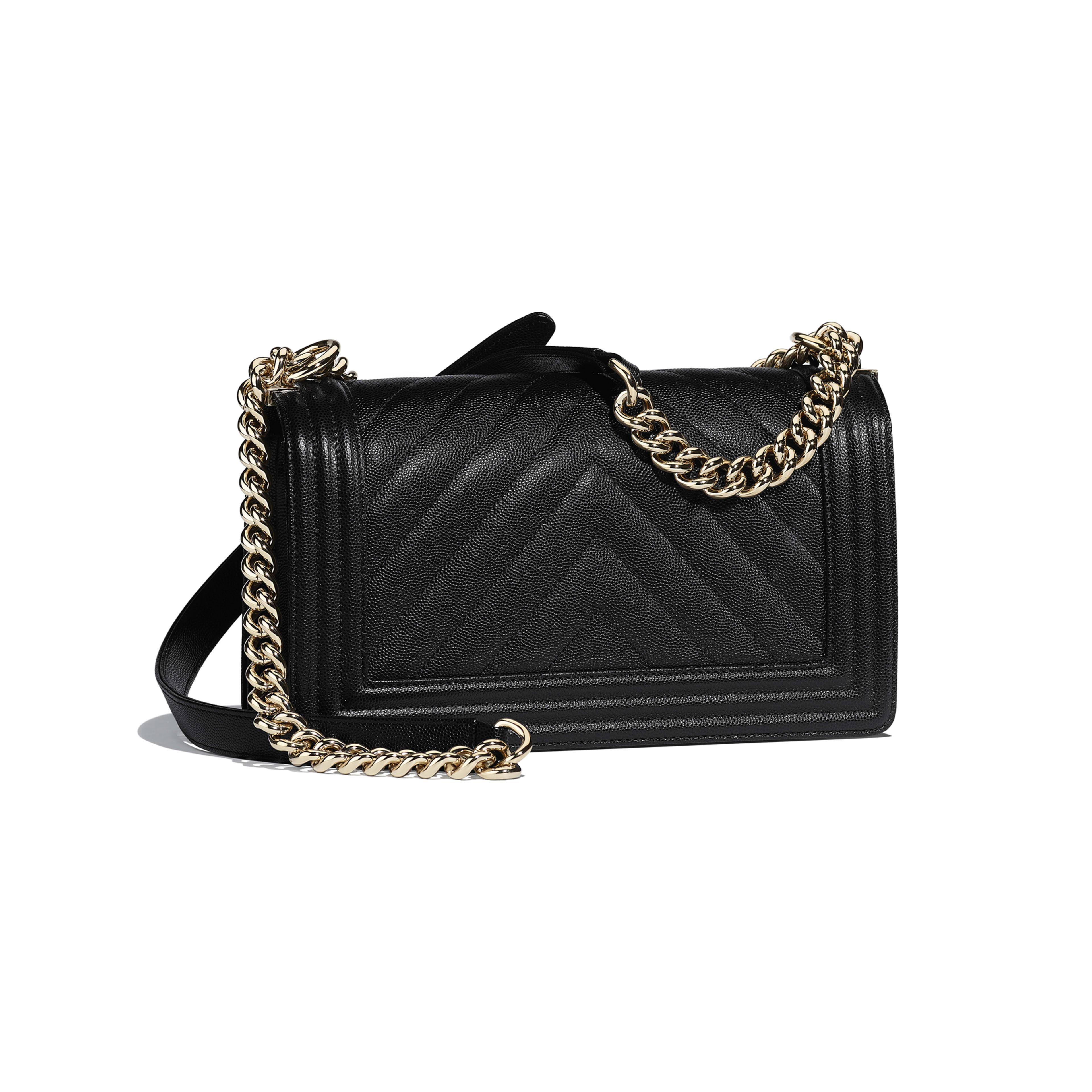 f3ca640166ed94 Boy Chanel Handbag Calfskin & Gold-tone Metal | Stanford Center for ...