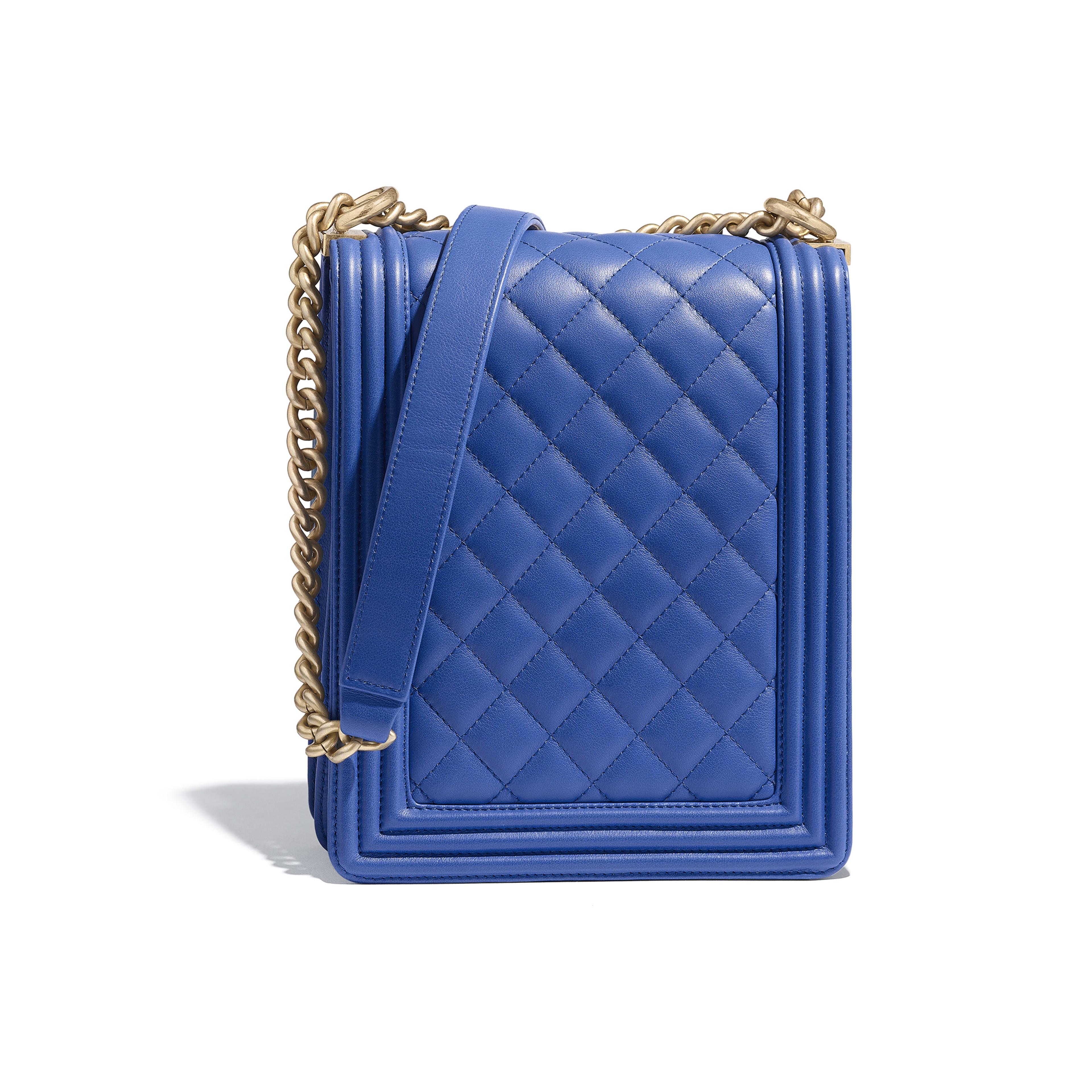 f695b872133d68 Boy Chanel Handbag Calfskin & Gold-tone Metal | Stanford Center for ...