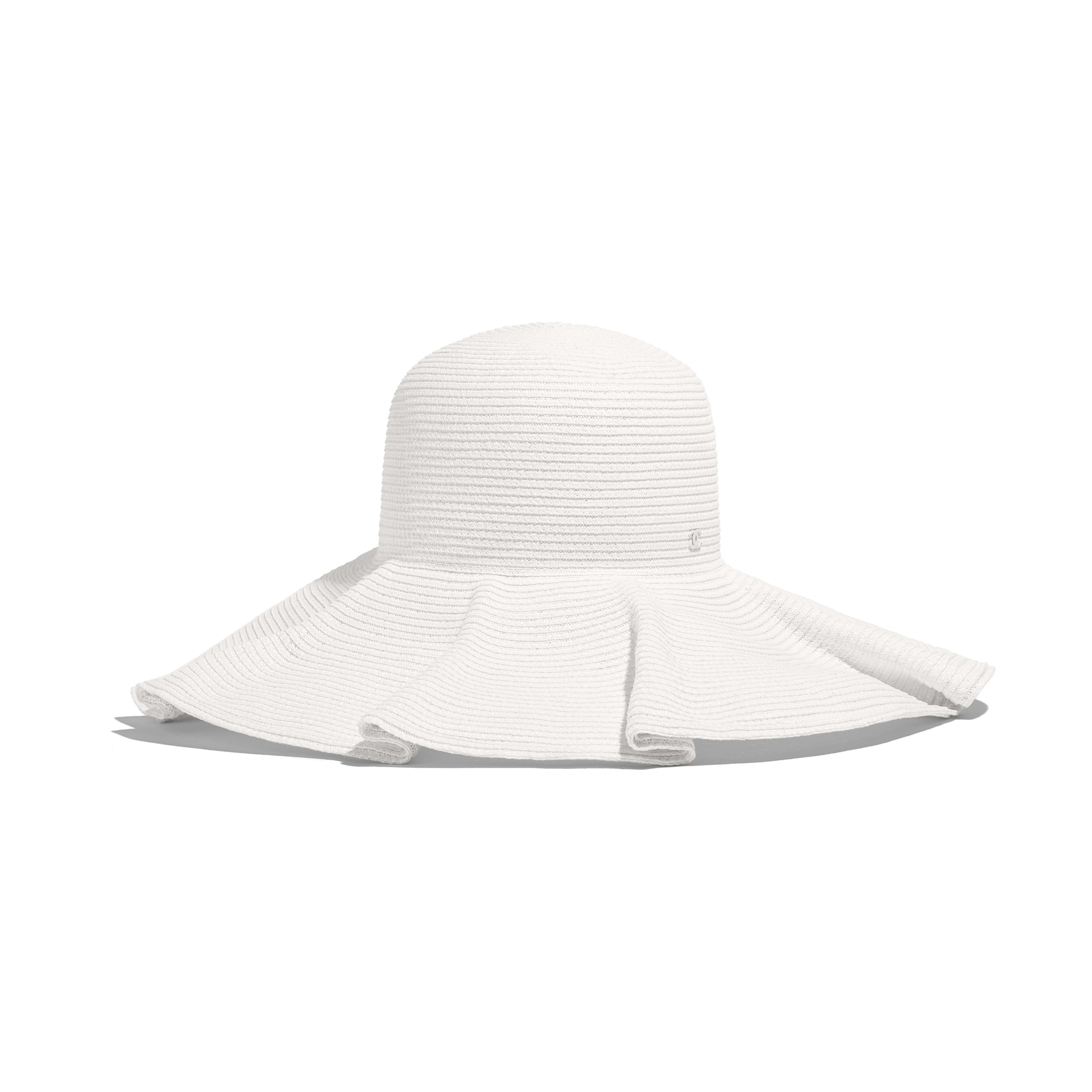 Hat - Ivory - Straw - Default view - see full sized version ... be53f3dbd64