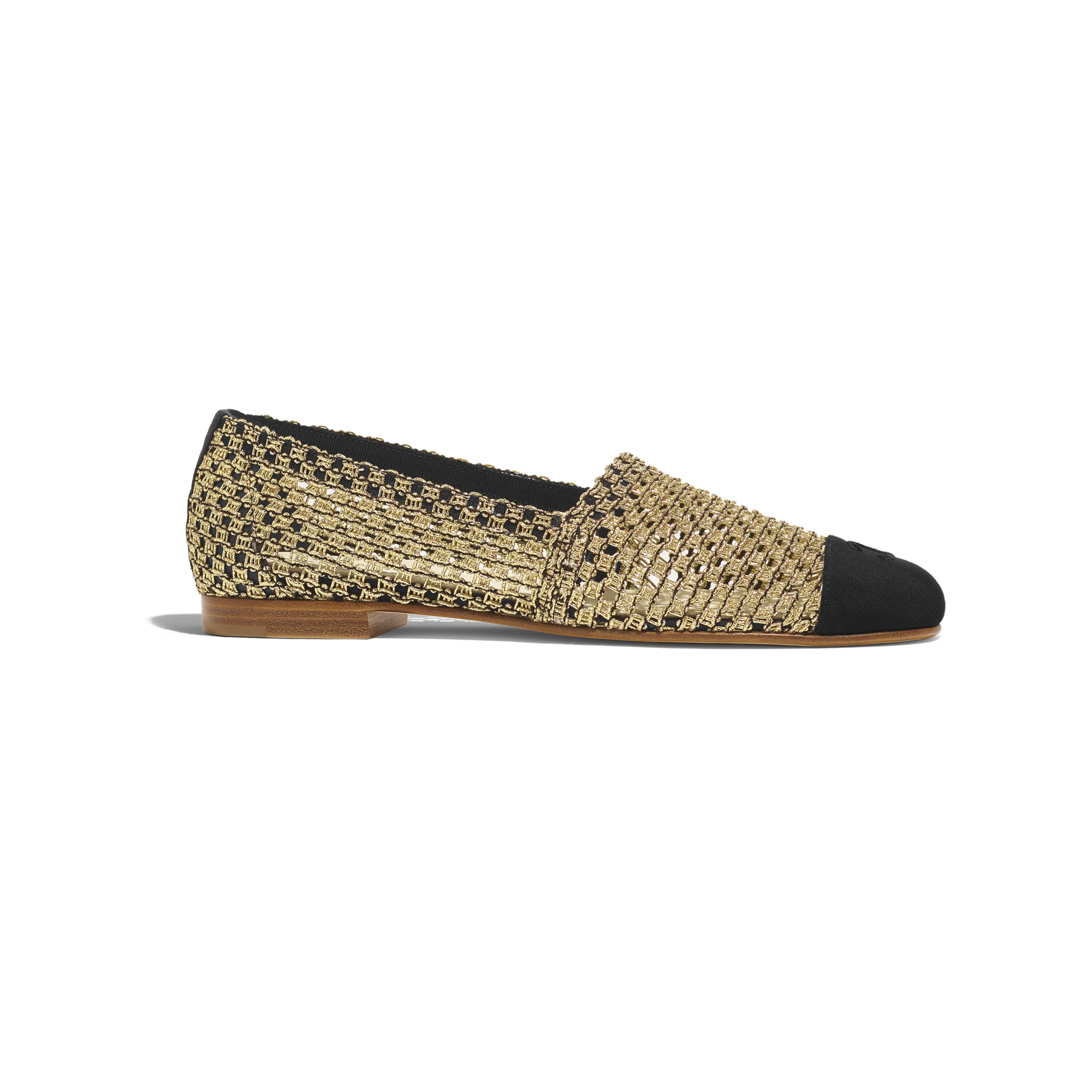 e3c918dc72c1 Loafers gold black knit grosgrain knit grosgrain packshot default jpg  3840x3840 Loafers with gold