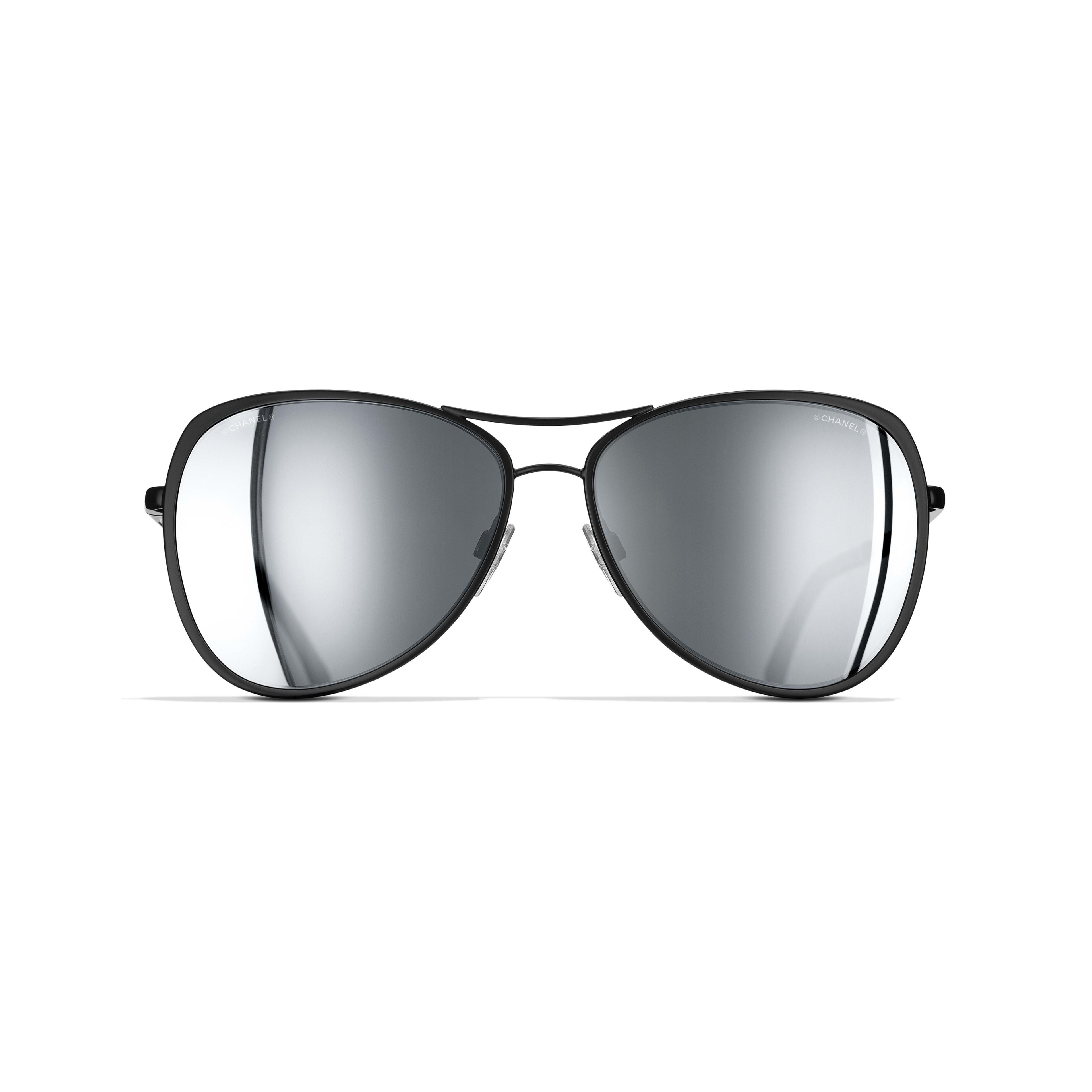 Pilot Sunglasses Metal Black -                                                    view 2 - see full sized version