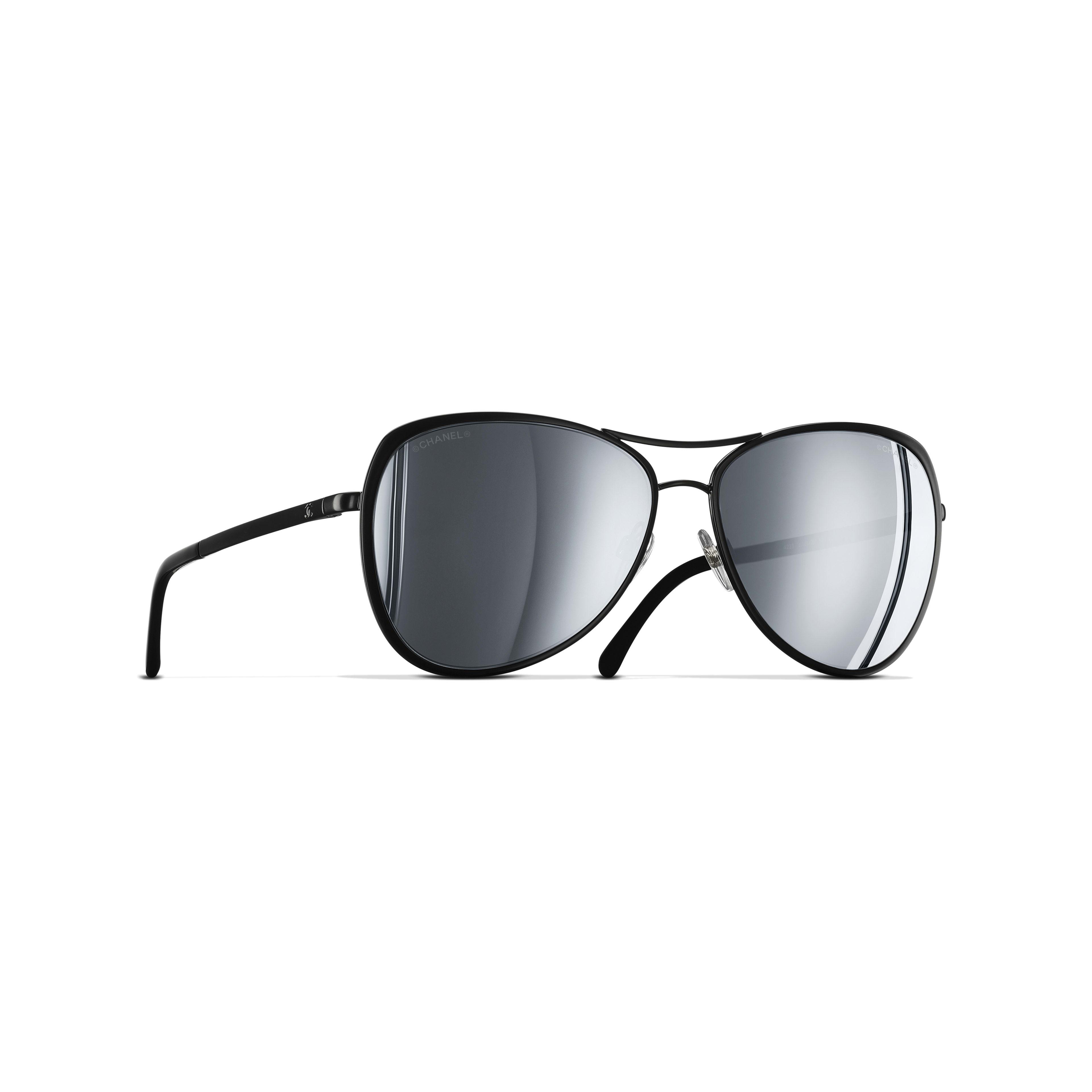 Pilot Sunglasses Metal Black -                                               view 1 - see full sized version