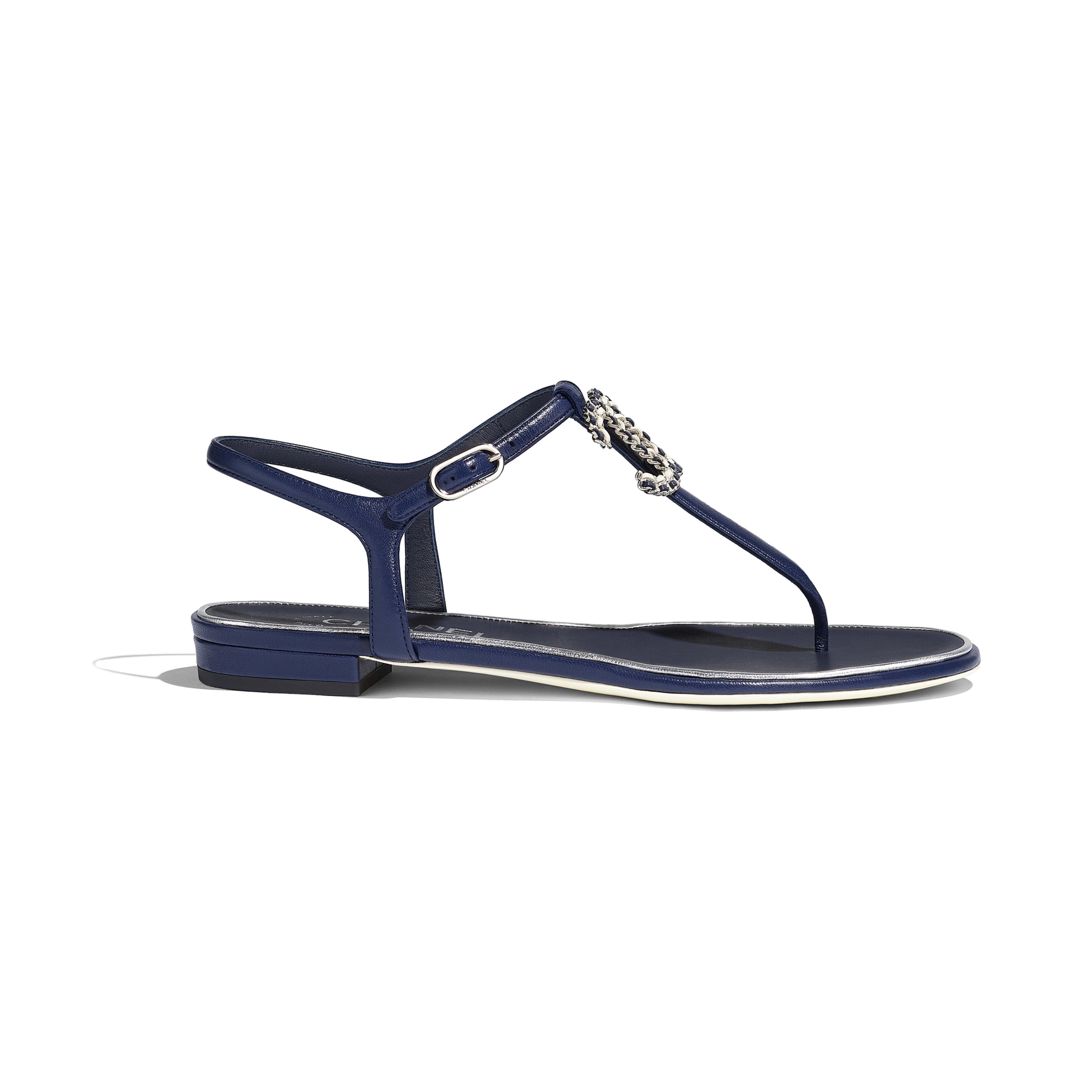 6cdf5211b3fdd2 Sandals navy blue lambskin default view see full sized version jpg  3840x3840 Blue sandals