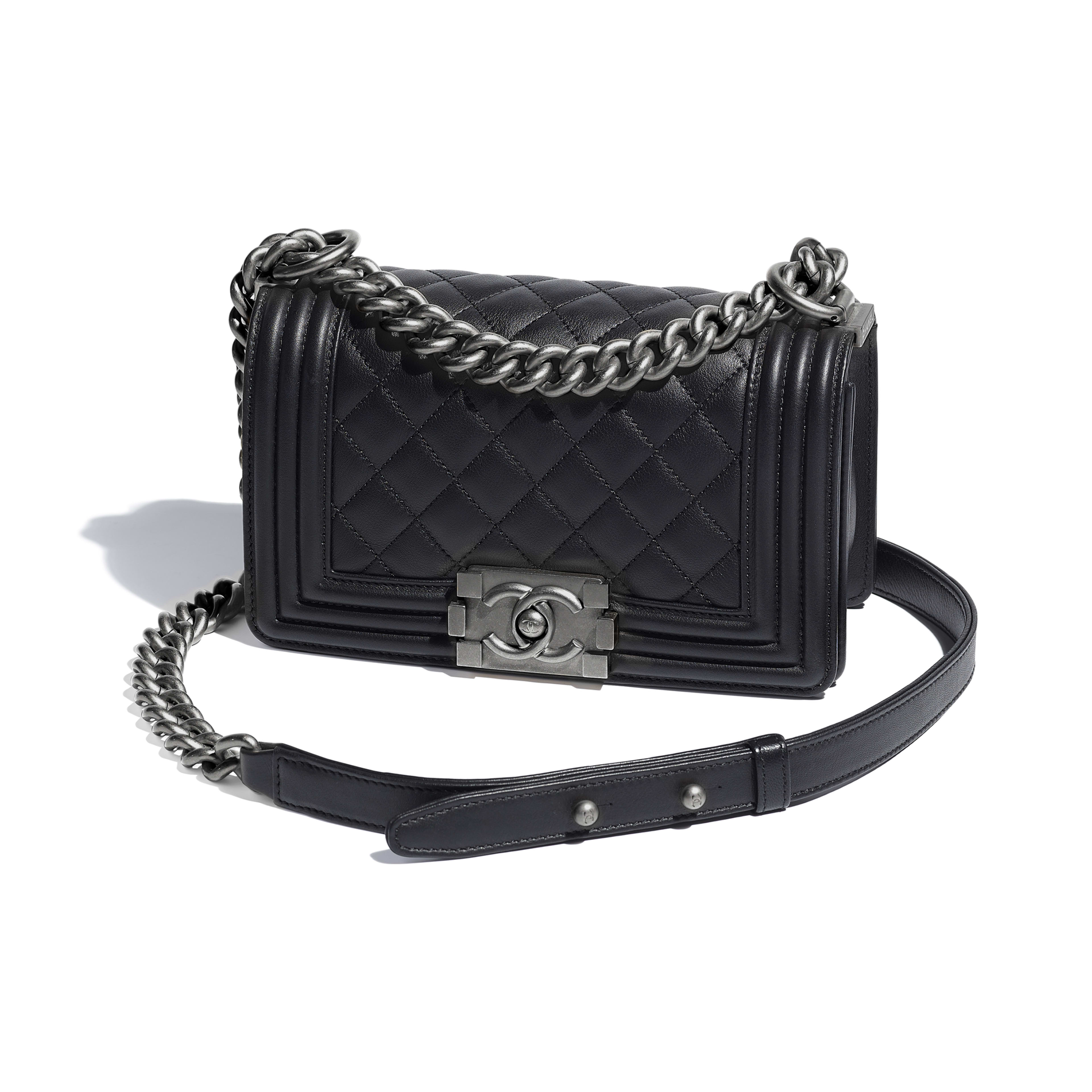 316e389f49b1 Boy Chanel Handbag Calfskin And Ruthenium | Stanford Center for ...