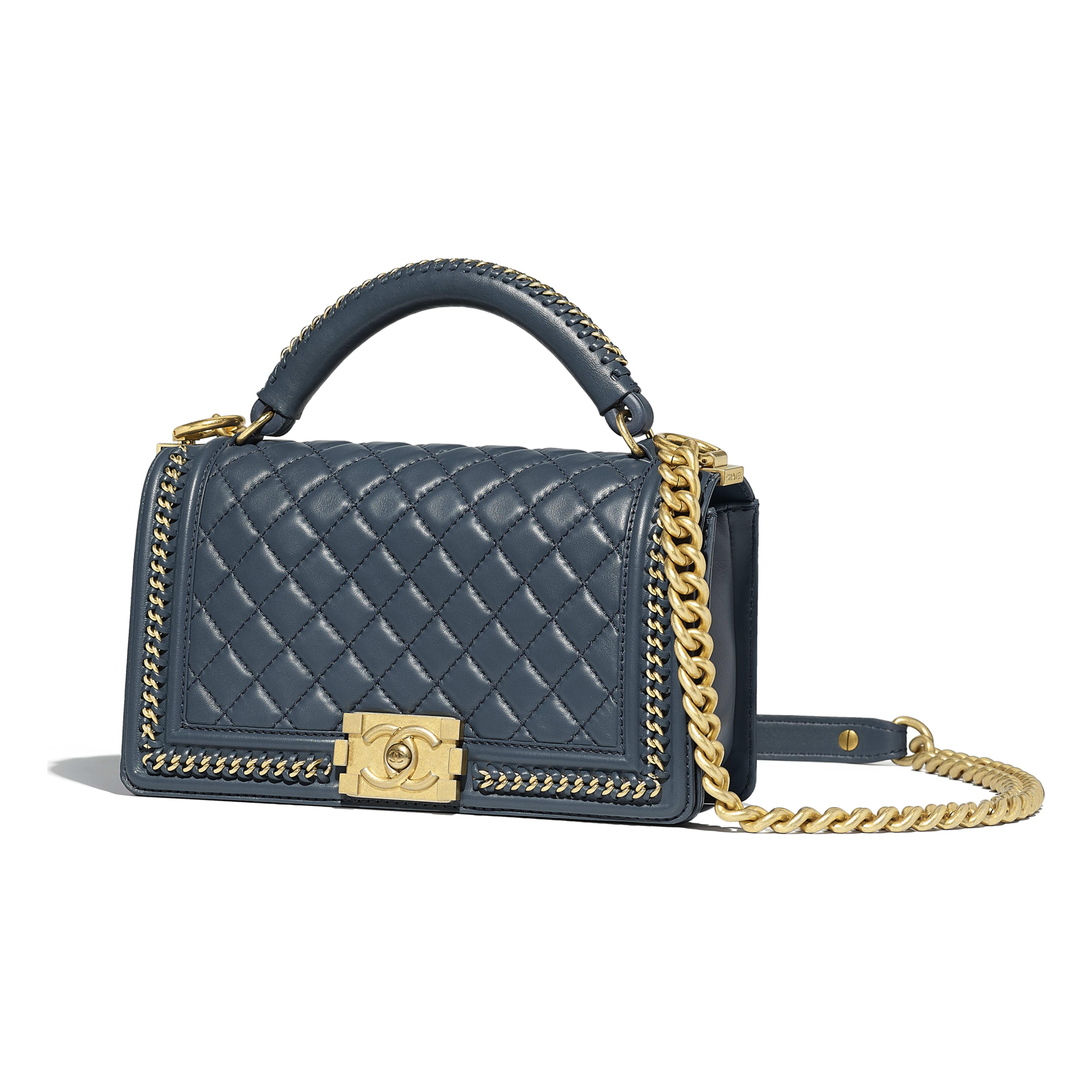 Boy Chanel Flap Bag With Handle
