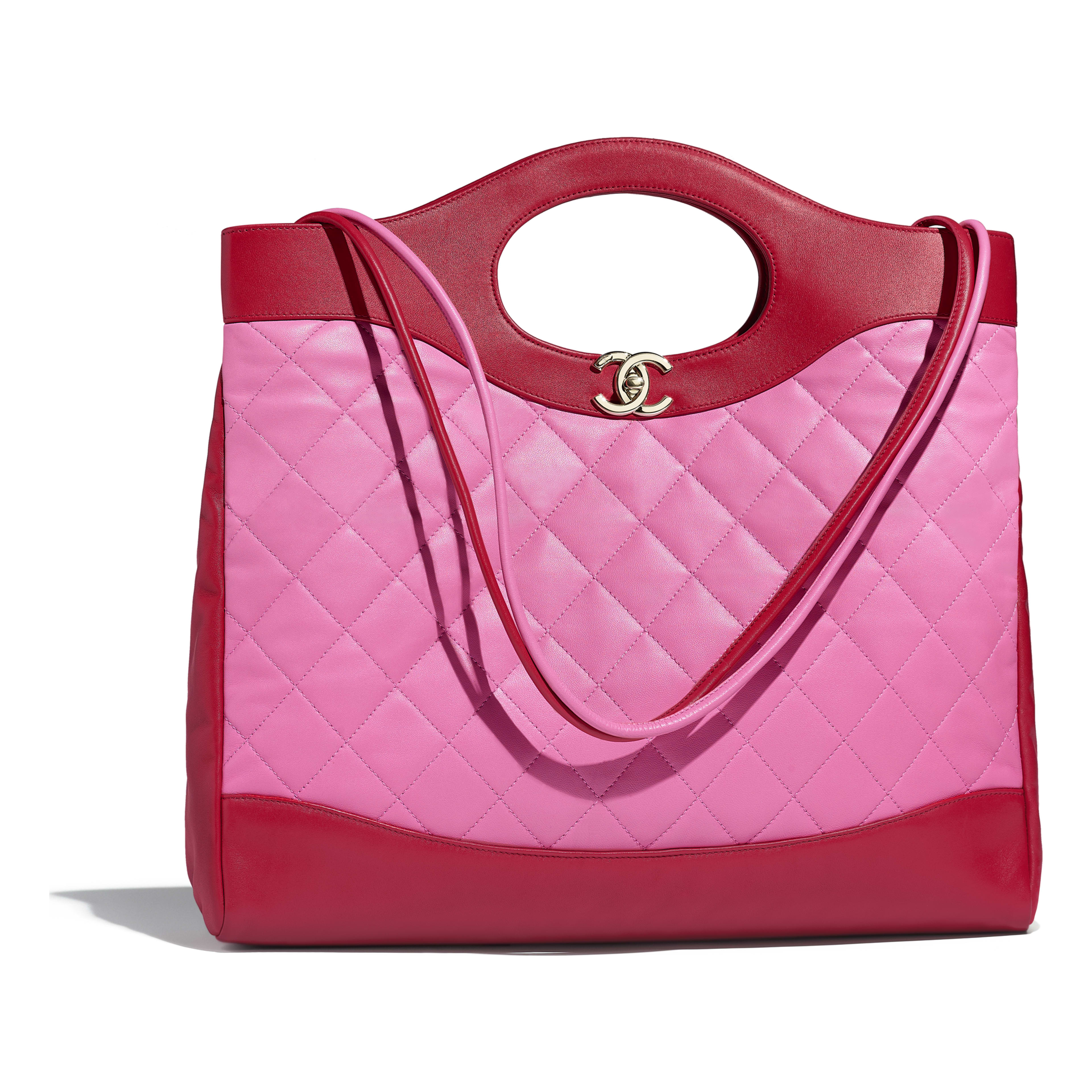 Chanel red bag foto