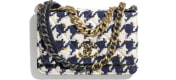 Ecru, Navy Blue & Multicolour