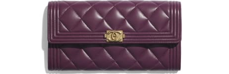 BOY CHANEL Long Flap Wallet - Fall-Winter 2020/21