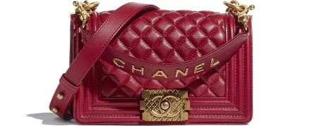 BOY CHANEL Small Flap Bag with Handle - Cruise 2020/21