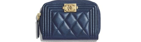 BOY CHANEL Zipped Coin Purse - Métiers d'Art 2019/20