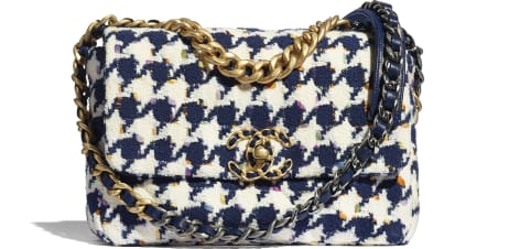 Sac à rabat CHANEL 19 - Pré-collection Printemps-Été 2021