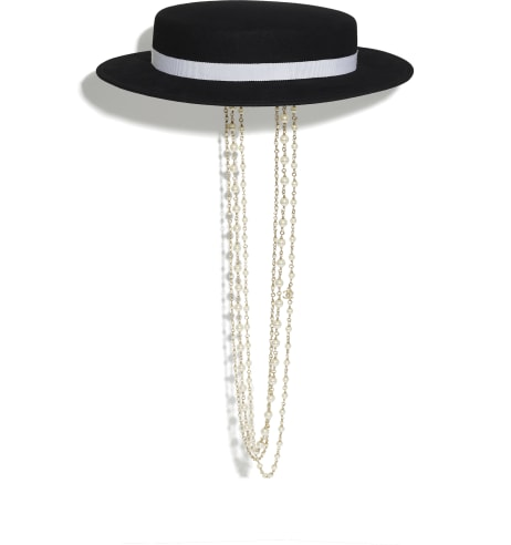 Hat - 31 rue Cambon 2019/20 Métiers d'art collection