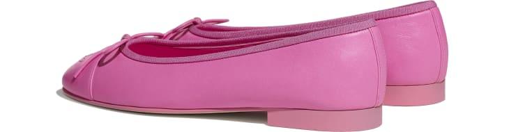 image 3 - Ballerinas - Lambskin - Neon Pink