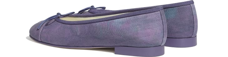 image 3 - Ballerinas - Fabric - Purple, Blue & Pink