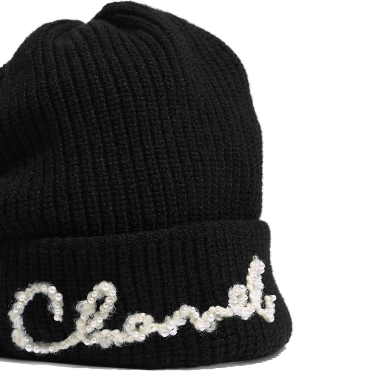 image 2 - Beanie - Cashmere - Black