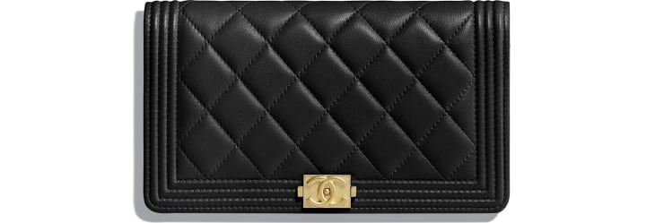 BOY CHANEL Long Flap Wallet