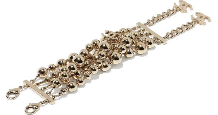 image 2 - Bracelet - Metal - Gold