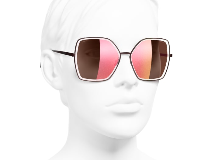Gafas de sol montura mariposa