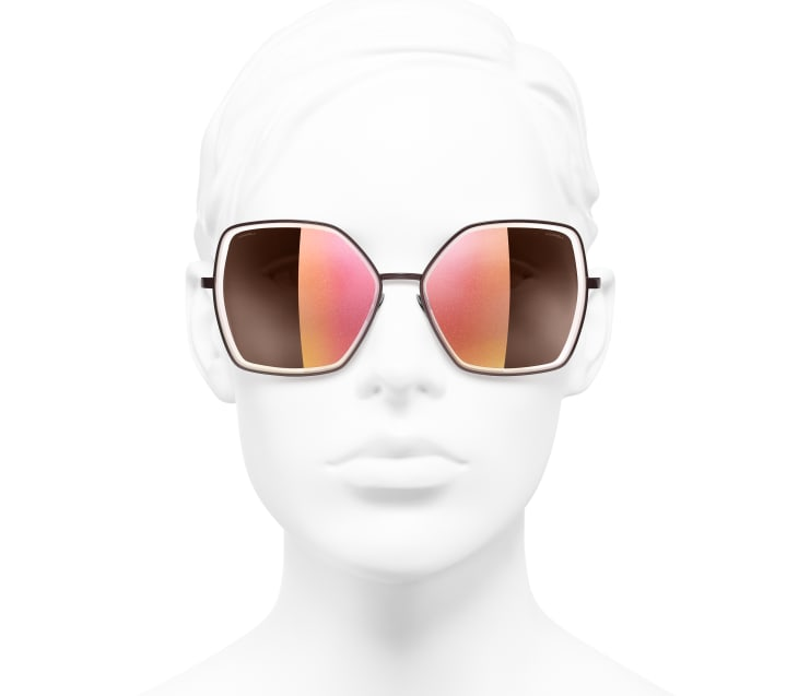 Schmetterlingsförmige Sonnenbrille