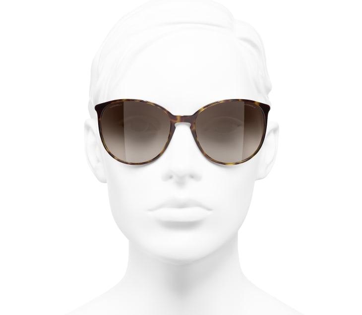 image 5 - Butterfly Sunglasses - Acetate - Dark Tortoise & Beige