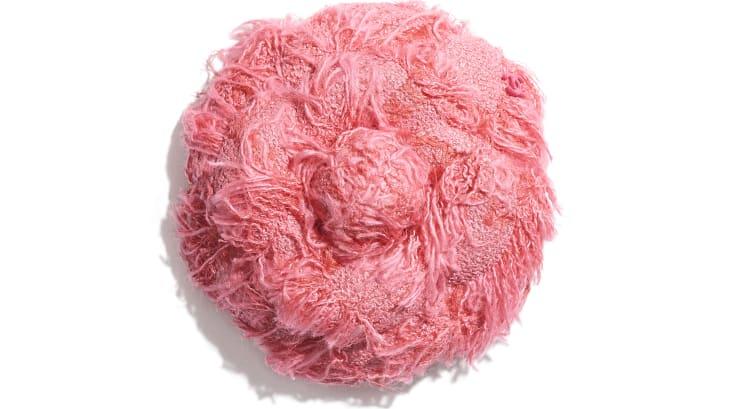 image 1 - Camélia - Tweed de coton - Rose
