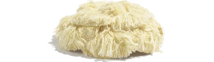image 2 - Camélia - Tweed de coton - Jaune