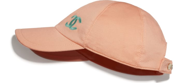 image 1 - Cap - Cotton - Orange & Turquoise