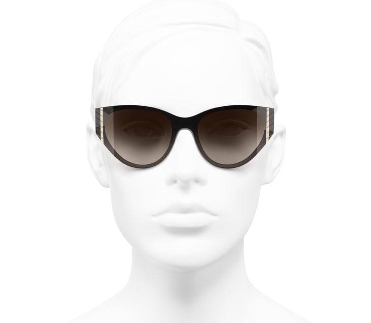 Katzenaugenförmige Sonnenbrille