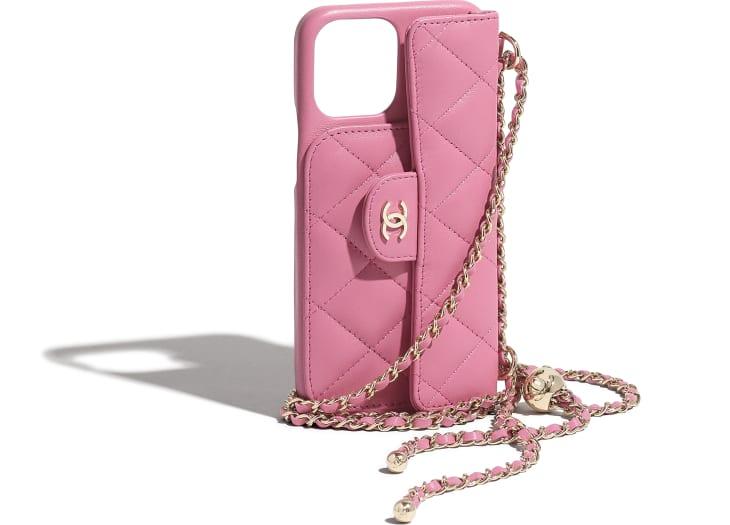image 4 - iPhone 12 Pro MAX クラシック ケース - ラムスキン - ピンク