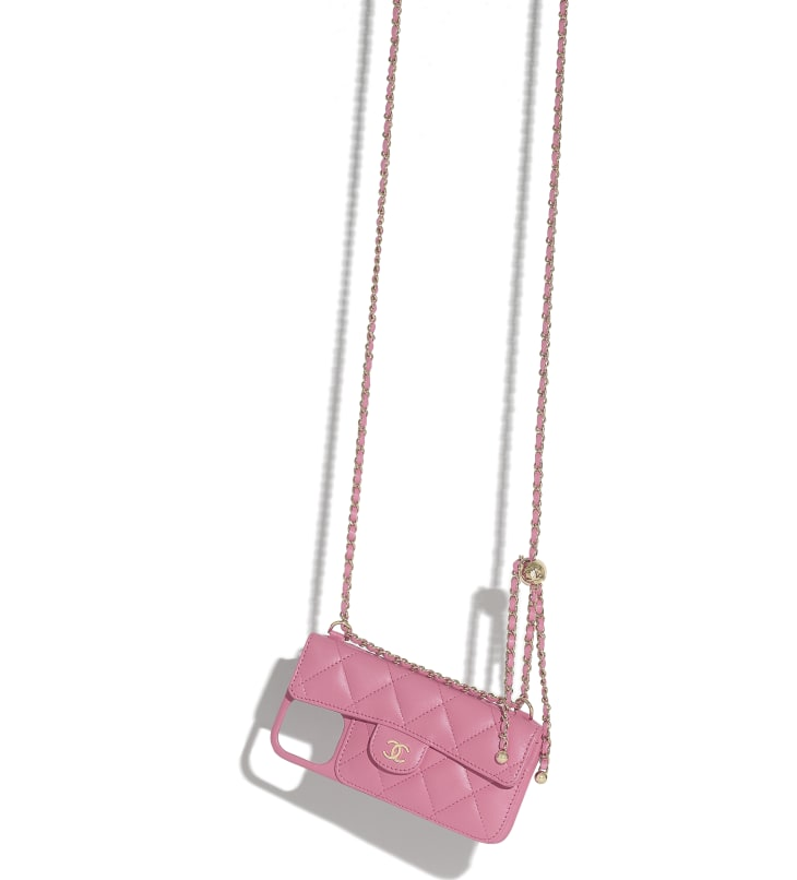 image 3 - iPhone 12 Pro MAX クラシック ケース - ラムスキン - ピンク
