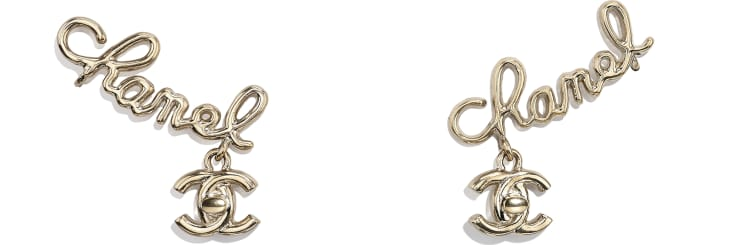 image 1 - Clip-on Earrings - Metal - Gold